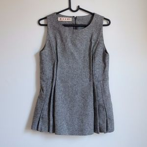 Beautiful MARNI Mini Lana Virgin Wool Dress